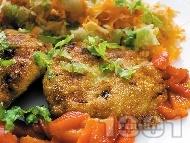 Зеленчукови кюфтета с картофи, спанак и броколи